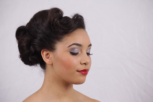 vintage fashion makeup