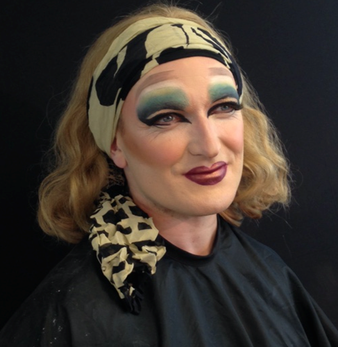 drag queen makeup model