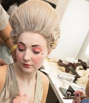 Make-up and Character Hair for a Theatre Performance Applied by an Iver Academy Trained Artist